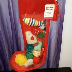 New 10 Piece Boots & Barkley Cat Toy Stocking